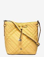 Plaid Quilted Mini Debby II Bag - BEACH YELLOW