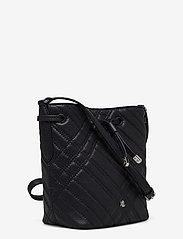 Lauren Ralph Lauren - Plaid Quilted Mini Debby II Bag - bucket bags - lauren navy - 2