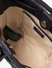 Lauren Ralph Lauren - Plaid Quilted Mini Debby II Bag - bucket bags - lauren navy - 4