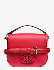Lauren Ralph Lauren - SUPER SMOOTH LEATHR-ADDIE 19-CXB-SM - crossbody bags - candy red - 0