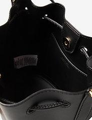 Lauren Ralph Lauren - Leather Medium Andie Drawstring Bag - bucketväskor - black - 4