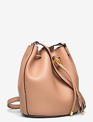 Lauren Ralph Lauren - Leather Medium Andie Drawstring Bag - bucketväskor - nude - 2