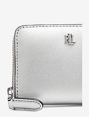 Lauren Ralph Lauren - Leather Zip Wallet - beurzen - bright silver/lau - 3