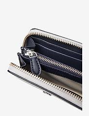Lauren Ralph Lauren - Leather Zip Wallet - beurzen - bright silver/lau - 4
