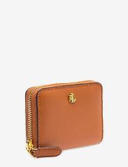Lauren Ralph Lauren - Leather Zip Wallet - beurzen - lauren tan/monarc - 2