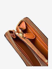 Lauren Ralph Lauren - Leather Zip Wallet - beurzen - lauren tan/monarc - 3