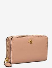 Lauren Ralph Lauren - Leather Zip Wallet - portfele - nude/nude - 2