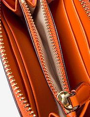 Lauren Ralph Lauren - Leather Small Zip Wallet - beurzen - sailing orange - 4