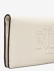 Lauren Ralph Lauren - Slim Pebbled Leather Wallet - beurzen - vanilla - 3
