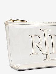 Lauren Ralph Lauren - Clear Cosmetic Bag - torby kosmetyczne - clear/vanilla - 3