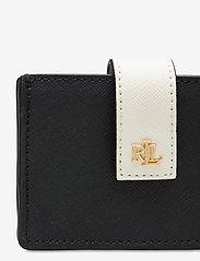 Lauren Ralph Lauren - Color-Blocked Accordion Card Case - kortholdere - black/antique gol - 3