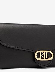 Lauren Ralph Lauren - Vegan Leather Continental Wallet - punge - black - 3