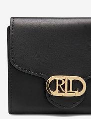 Lauren Ralph Lauren - Vegan Leather Compact Wallet - punge - black - 3