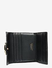 Lauren Ralph Lauren - Vegan Leather Compact Wallet - punge - black - 4