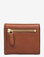 Lauren Ralph Lauren - Vegan Leather Compact Wallet - punge - lauren tan - 1