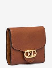 Lauren Ralph Lauren - Vegan Leather Compact Wallet - punge - lauren tan - 2