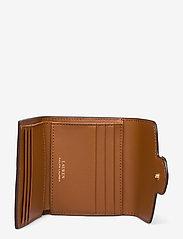 Lauren Ralph Lauren - Vegan Leather Compact Wallet - punge - lauren tan - 3