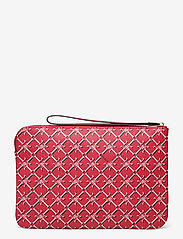 Lauren Ralph Lauren - Heritage Vegan Leather Large Pouch - punge - candy red heritag - 1
