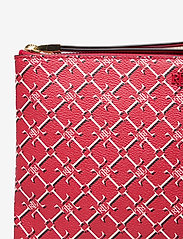 Lauren Ralph Lauren - Heritage Vegan Leather Large Pouch - punge - candy red heritag - 3