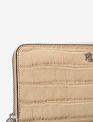 Lauren Ralph Lauren - Embossed Leather Continental Wallet - punge - dune tan - 3