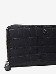 Lauren Ralph Lauren - Embossed Leather Continental Wallet - punge - lauren navy - 3