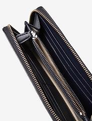 Lauren Ralph Lauren - Embossed Leather Continental Wallet - punge - lauren navy - 4
