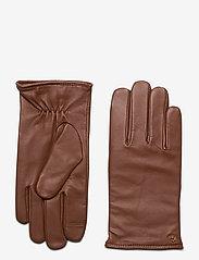 Lauren Ralph Lauren - Leather-Cashmere Gloves - handschoenen - dill saddle - 0