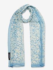 Lauren Ralph Lauren - Janelle Silk Chiffon Scarf - tynde tørklæder - dust blue - 0
