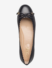 Lauren Ralph Lauren - Glennie Leather Flat - ballerinasko - black - 4