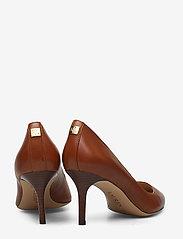 Lauren Ralph Lauren - Lanette Leather Pump - klassiske pumps - deep saddle tan - 4