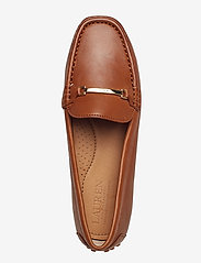 Lauren Ralph Lauren - Briony Leather Driver - loafers - deep saddle tan - 3
