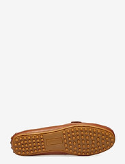 Lauren Ralph Lauren - Briony Leather Driver - loafers - deep saddle tan - 4