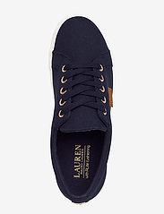 Lauren Ralph Lauren - Jaycee Canvas Sneaker - sneakersy niskie - dark midnight - 3
