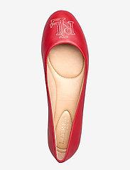 Lauren Ralph Lauren - Jamie Leather Flat - ballerinasko - lauren red - 3