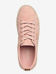 Lauren Ralph Lauren - Jaycee Suede Sneaker - sneakersy niskie - ballet slipper - 3
