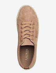 Lauren Ralph Lauren - Jaycee Suede Sneaker - sneakersy niskie - khaki - 3