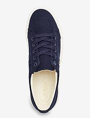 Lauren Ralph Lauren - Janson II Canvas Sneaker - sneakers med lav ankel - lauren navy - 3