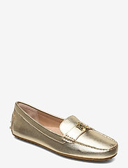 Lauren Ralph Lauren - Barnsbury Metallic Loafer - loafers - pale gold - 0