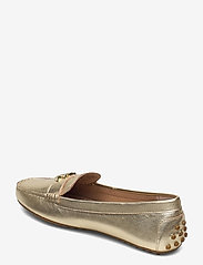 Lauren Ralph Lauren - Barnsbury Metallic Loafer - loafers - pale gold - 2