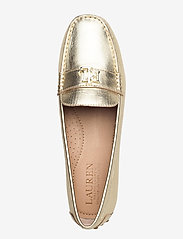 Lauren Ralph Lauren - Barnsbury Metallic Loafer - loafers - pale gold - 3