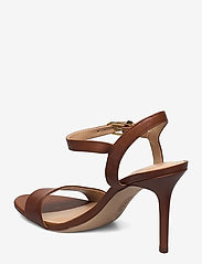 Lauren Ralph Lauren - Gwen Leather Sandal - sandales à talons - deep saddle tan - 2