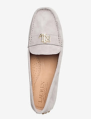 Lauren Ralph Lauren - Barnsbury Suede Loafer - loafers - light grey - 3