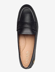 Lauren Ralph Lauren - Adison Burnished Leather Loafer - instappers - black - 3