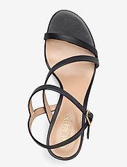 Lauren Ralph Lauren - Landyn Nappa Leather Sandal - brudesko - black - 3