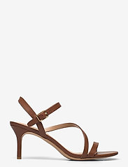 Lauren Ralph Lauren - Landyn Nappa Leather Sandal - brudesko - deep saddle tan - 1