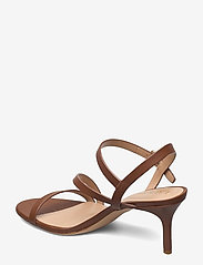 Lauren Ralph Lauren - Landyn Nappa Leather Sandal - brudesko - deep saddle tan - 2