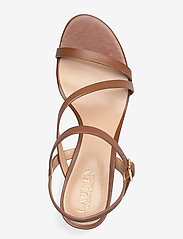 Lauren Ralph Lauren - Landyn Nappa Leather Sandal - brudesko - deep saddle tan - 3
