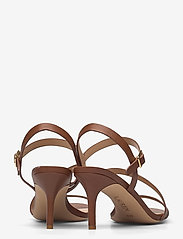 Lauren Ralph Lauren - Landyn Nappa Leather Sandal - brudesko - deep saddle tan - 4