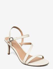 Lauren Ralph Lauren - Landyn Nappa Leather Sandal - brudesko - vanilla - 0
