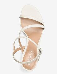 Lauren Ralph Lauren - Landyn Nappa Leather Sandal - brudesko - vanilla - 3